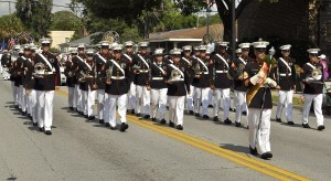 The Parris Island Marine Band led the annual Memorial Day parade on Monday, May 26.