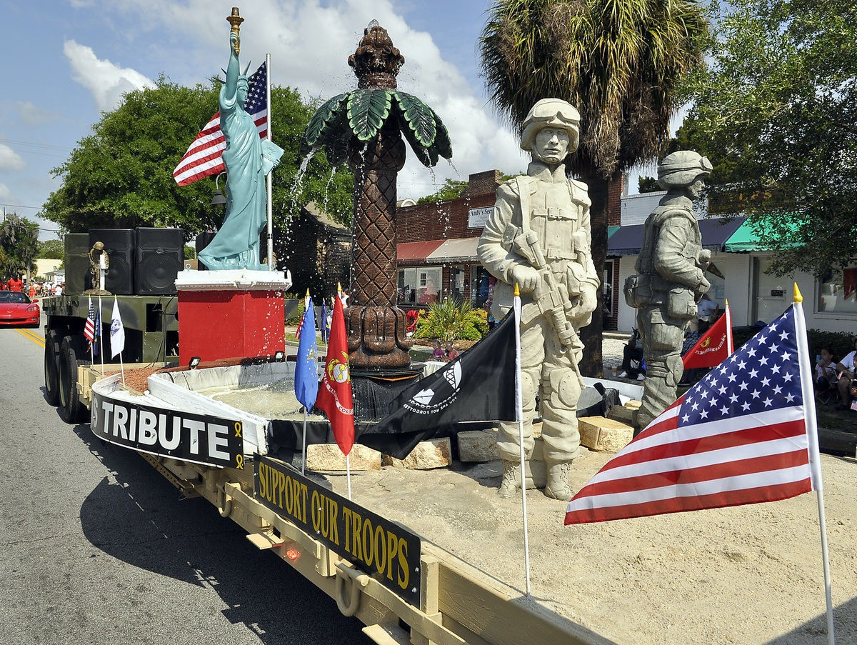 Patriotic parade floats ideas a time to pay tribute memorial day 2014