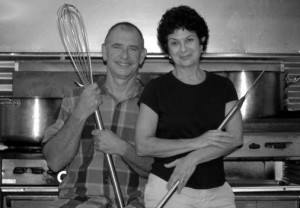 Pat Gallagher and Ann Gassenheimer are the owners of Vegetable Kingdom.