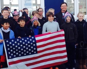 Congratulations to Beaufort Academy 8th grader, Alex Mazzeo. This week, based on his success at the 2014 USODA Team Trials, The United States Optimist Dingy Association offered Alex an invitation to represent the United States this summer at the 2014 Topsport Vlaanderen Regatta. Alex is second from the right with the U.S. team in Holland.