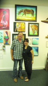 Alan Metzger and Mary Thibault.