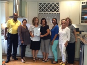Each week, the Beaufort Regional Chamber of Commerce chooses a chamber business and surprises them with lunch courtesy of Sonic. The Business of the Week is Live Oak Builders.