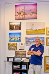 Eric Smith displays his work at Thibault Gallery on Bay Street.