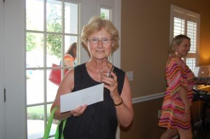 Rita Hunt won a gift certificate from  Guys and Dolls hair salon.