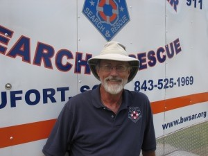 Doyle Clifton of Beaufort Water Search and Rescue