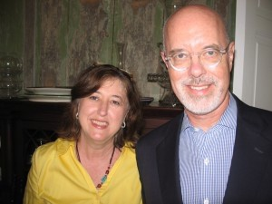SC Arts Commission Program Director Susan Duplesis and Ken May, SC Arts Commission executive director