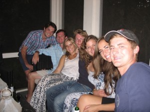 Mickie Cherry, Ben Post, Bailey Guilloud, Nathan Akers, Isabelle Trask, Clare Hatcher and Conner Akers