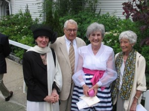 Rebecca Davenport, Ray and Jerry Stocks, and Anne Roberts.