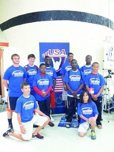 Team Beaufort wins overall at weightlifting tournament.