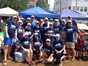 """""""Torture Chamber"""" team takes the gold in their division during DragonBoat Beaufort Race Day"""