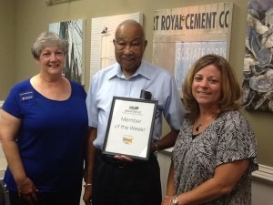 Each week, the Beaufort Regional Chamber of Commerce chooses a chamber business and surprises them with lunch courtesy of Sonic. The Member of the Week is The Multicultural Center, pictured above.