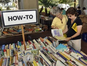 """This photo by Bob Sofaly from the 2012 Friends of Beaufort Library won an award from the South Carolina Press Association in the """"humor photo"""" category."""