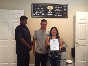 Each week, the Beaufort Regional Chamber of Commerce chooses a chamber business and surprises them with lunch courtesy of Sonic. The Business of the Week is Airport Tire & Service.