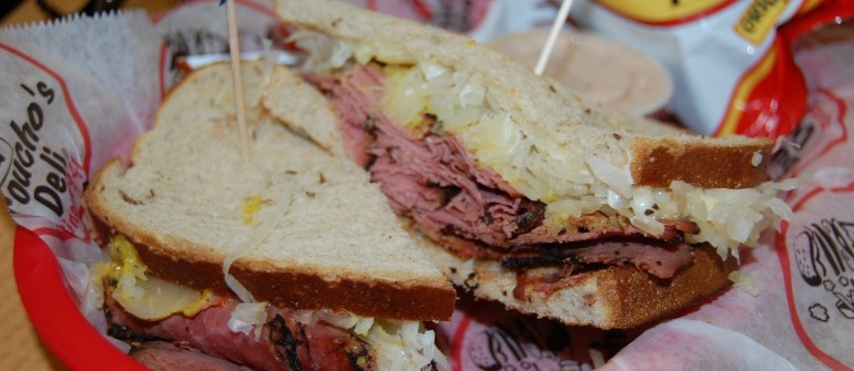 'Quality is the most important ingredient in a sandwich' at Groucho's Deli