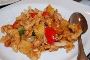 Siam chicken with pineapple