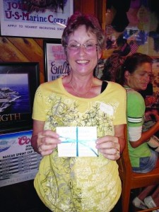 Kathy Futch won a gift certificate from Pinnacle Plastic Surgery.