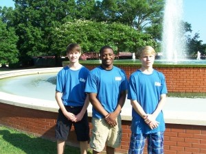 Pictured from left to right: Marcus Cook, Hezzie Jordan and Dima Shipsey
