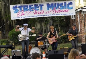The band, from Nashville, Tenn., from left, includes Peter Karp, Michael Catapano, Sue Foley and Niles Terrat.
