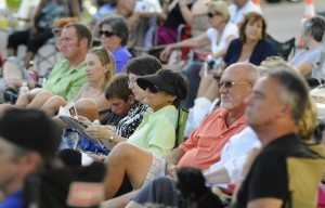 Several hundred people enjoyed an evening of live music and a cool breeze in Port Royal.