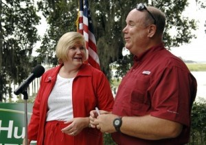 Rep. Shannon Erickson and her husband.