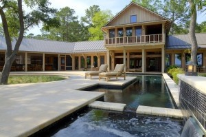 The Crosby home in Seabrook was built by Frederick + Frederick Architects.