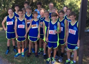 Congratulations to the Beaufort Academy Middle School Cross Country Team, they have won their last three meets. BA hosted its first home meet on October 1.