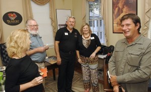 The fun folks at the Beaufort Film Society