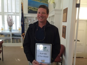 Each week, the Beaufort Regional Chamber of Commerce chooses a chamber member and surprises them with a meal courtesy of Sonic of Beaufort. The Business of this Week is Beaufort Alarm and Sound Systems, with owner Jeff Myers.