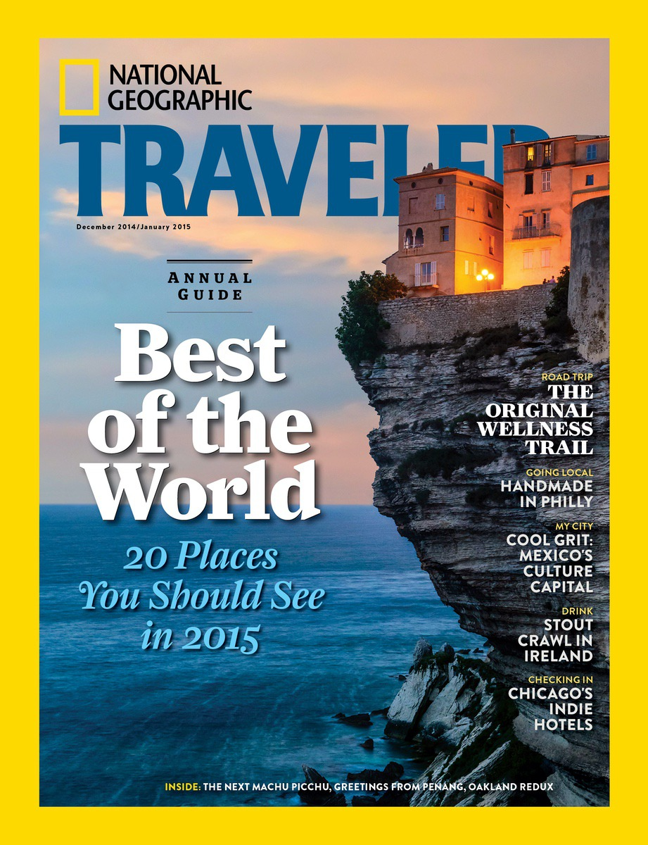 Best Trips 2015 National Geographic Traveler: Sea Islands Featured In Travel Magazine