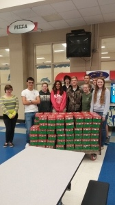 Battery Creek High School held Operation Christmas Child on Thursday, November 6. Students, parents, and faculty and staff members filled 94 boxes. More boxes are partially completed and will be filled prior to delivery to the collection center on November 19. Included in every box was a postcard with a photo of BCHS and the Beaufort waterfront.  These postcards were created by the BCHS FBLA Club under the direction of advisor Desiree Mungin. The BCHS SADD Club purchased the boxes for filling and many of the items were donated by the BCHS SADD Club and their parents.  SADD Club advisor Diane Grooms is extremely grateful for the support of the BCHS administration, faculty and staff for their donations and support on this project.