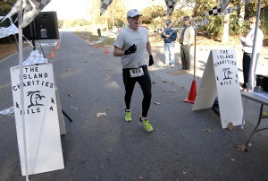 The overall winner of the fourth annual Island Charities 5K Run was Derek Comerford of Lady's Island with 22:33.