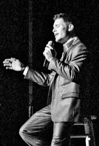 Savannah-based performer Trae Gurley's show of Sinatra standards will be at ARTworks on Friday night.