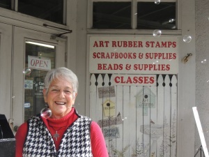 Cover-Janet Mark, owner of Carolina Stamper, is retiring and closing her business.