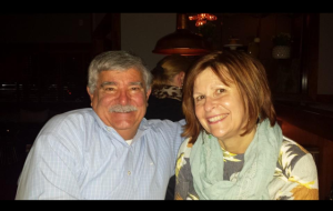 Andy Corriveau and his wife, Nancy