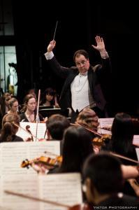 This Saturday evening, Harry Davidson, conductor of the Duke Symphony Orchestra, will once again lead the 60-piece ensemble through a program of classical works by well-known and emerging composers.