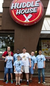 SPORTS - HAMMERHEAD It is important to start a competition with good nutrition at  Chris Wilson's Huddle House!
