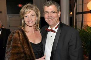 Bill with wife, Martha