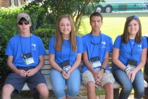 Beaufort County students (from left to right) Marcus Cook, Hannah Hansen, Dominic Monti and Haley Smith attended the South Carolina Farm Bureau Federation's 2015 Youth Leadership Conference.