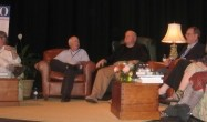 Conroy family panel very funny & touching at USCB Pat at 70 event