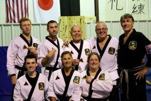 2nd and 3rd Degree Black Belt recipients