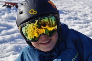 Give children the appropriate protective eyewear along with their new skis, snowboards, and sleds.