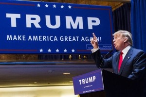 In an unusually large Republican presidential primary field Donald Trump has consistently demonstrated his talent for dominating the news.