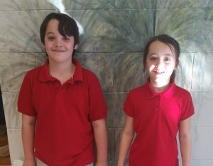 SCHOOLS - Cape and Cece McAlhaney  both received  straight A's in The Beaufort County School District's magnate program AMES ( Advanced Math Engineering and Sciences) at Beaufort Elementary.