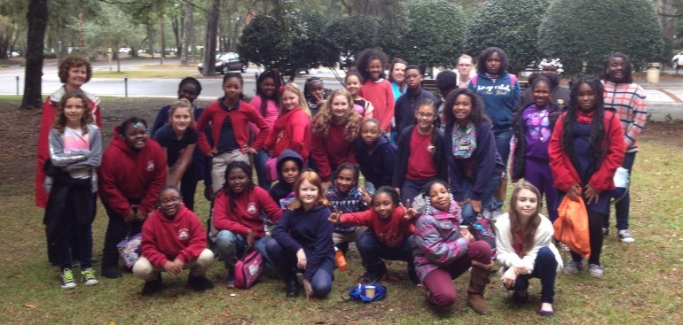 Paul Taylor 2 Dance Company chats with Lady's Island Elementary School