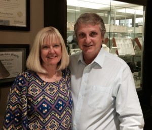 Terri and Mark Stokes celebrate the oldest remaining store on Bay Street.