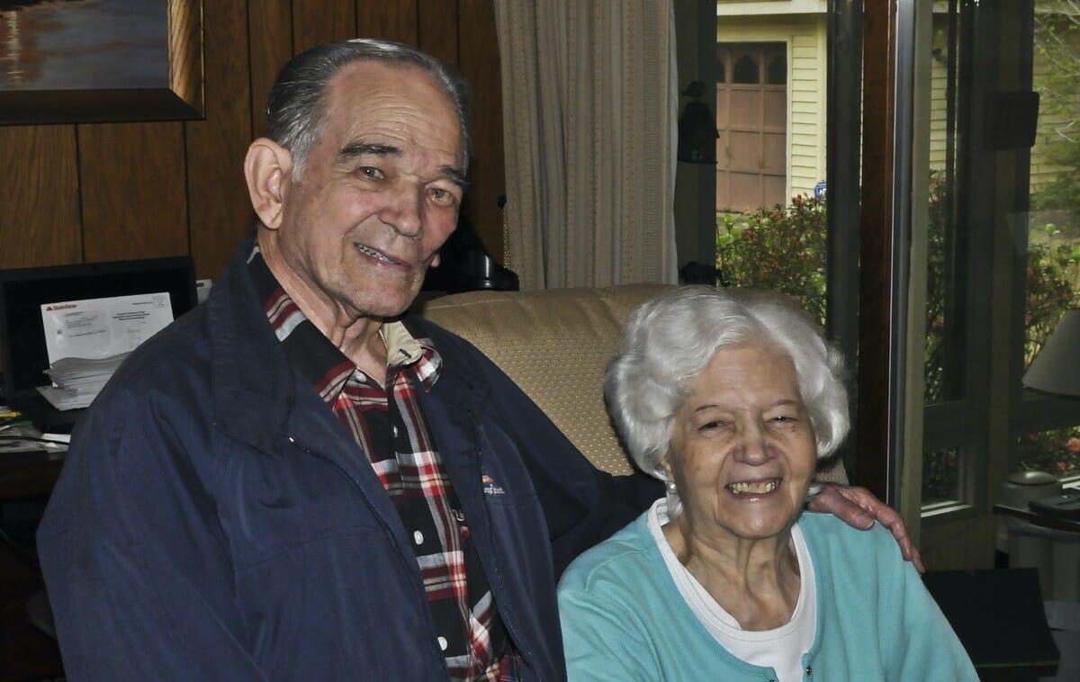 Osvaldo and Noris Mujica taken in 2016.