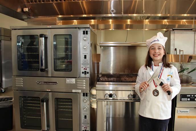 SCHOOLS - 4th grade chef