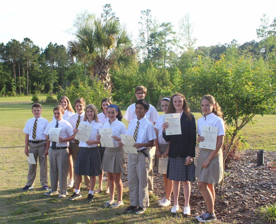 National Junior Honors Society Members