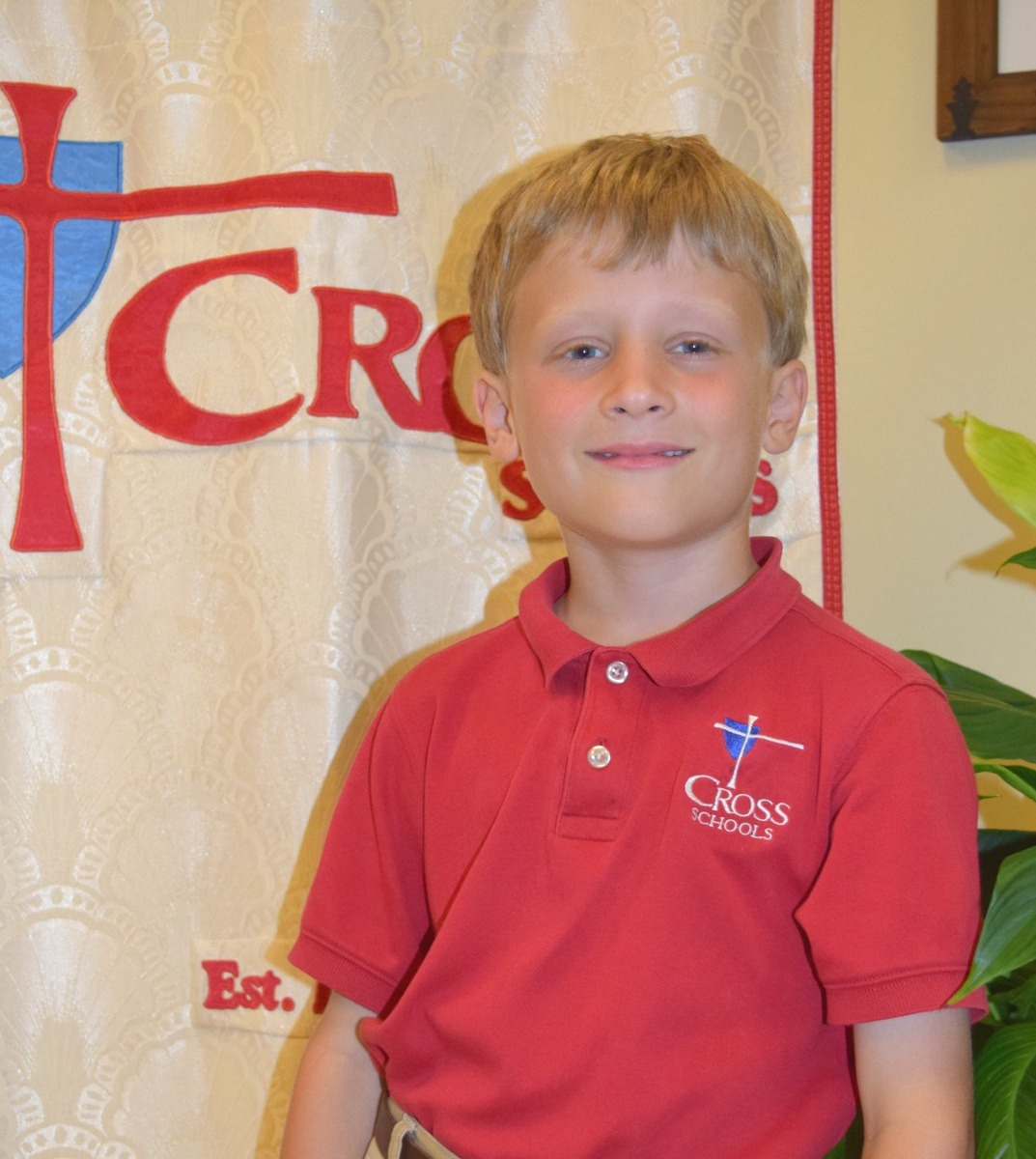 """""""I'm excited about going to the water park in Pooler. I like to go down the water slides,"""" said Anderson Talbert (7)."""