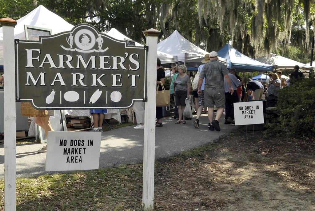 The Port Royal Farmer's Market is just off South Ribaut Road Between Port Royal Baptist Church and U.S. Naval Hospital Beaufort.